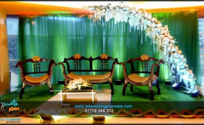Wedding Stage Decoration Holud Bd Event Management