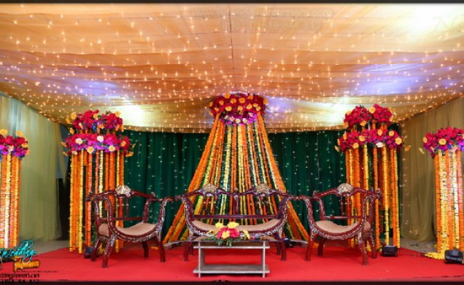 Holud Stage Decoration Dhaka Bangladesh Bd Event