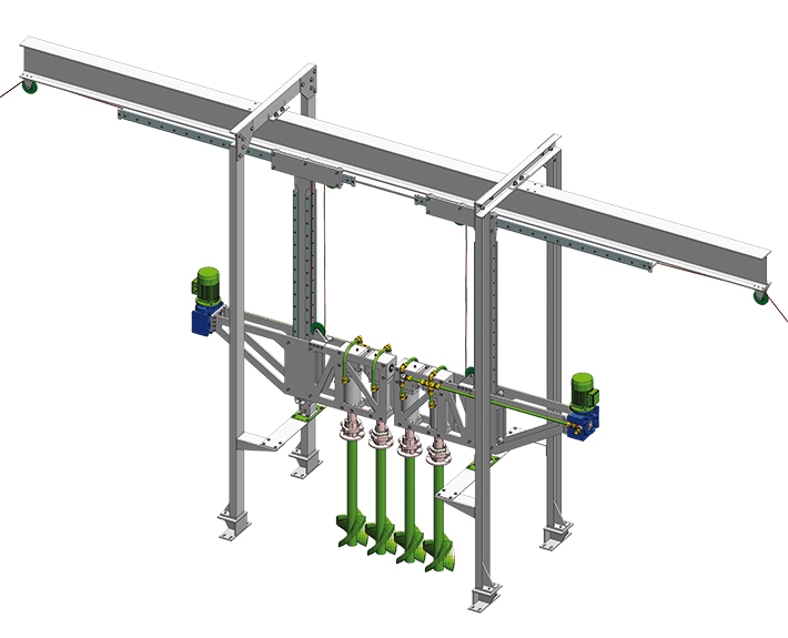 Glass Technology Batch Charger Glass Level and equipment