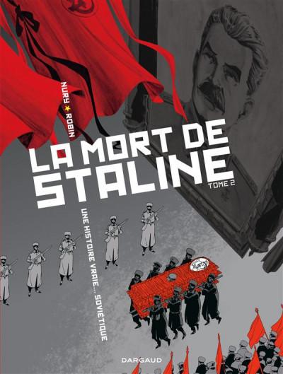 Couverture la mort de staline tome 2 - Funérailles