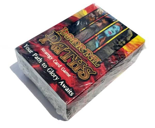 Fantasy Card Game Immortal Paths Pack Shot