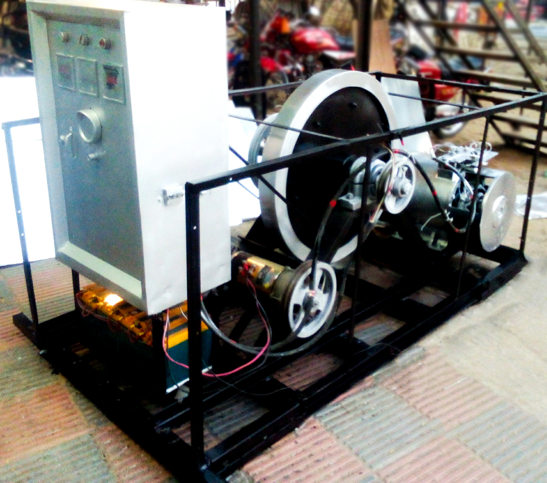 Electrical Bus Power Generation Feature In Bangladesh
