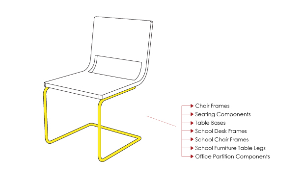 steel chair manufacturing process floral camping tubular furniture parts manufacturers metal tube framing not only can we manufacture standard but offer custom solutions when you need it for various measurements and applications specific to your