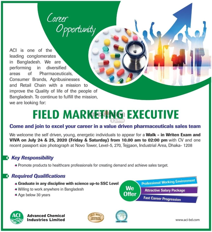 ACI Limited Job Circular 2020