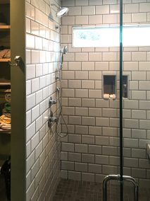 BDM Remodeling Atlanta Subway Tile Shower with Bench Neutral Tones Lime Green Walls Master 20June2019_0002_Layer 2