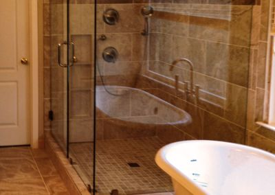 Earth Tone Luxury Master Bath
