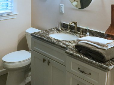 BDM-Residential-Remodeling-Black & White Bathroom