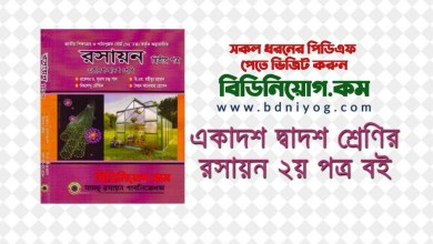 Photo of HSC Chemistry 2nd Paper Book by Subash Chandra Pal PDF Download