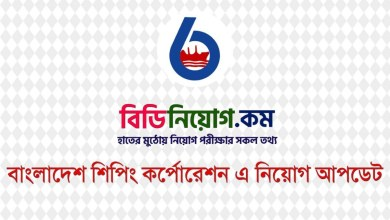 Photo of Bangladesh Shipping Corporation Job Circular 2020 – bsc.portal.gov.bd