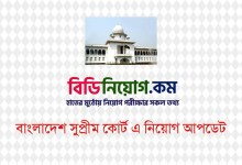 Photo of High Court Division of Bangladesh Supreme Court Written Exam Result Published 2020