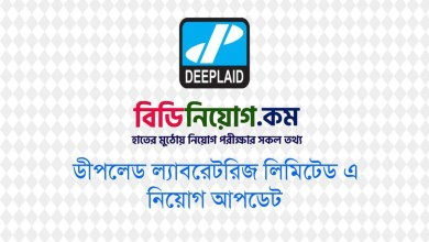 Photo of Deeplaid Laboratories Ltd Job Circular 2020 – www.deeplaid.com.bd