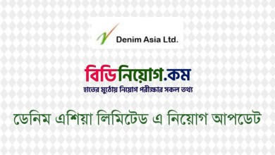 Photo of Denim Asia Limited Job Circular 2020 – noizejeans.com