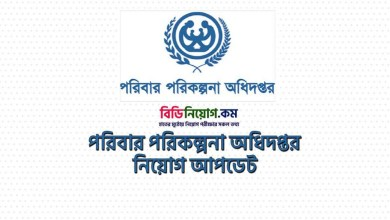 Photo of Directorate General of Family Planning Job Circular 2020 – dgfp.gov.bd