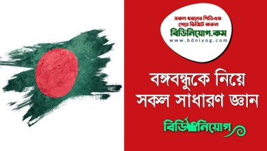 Bangabandhu General Knowledge PDF