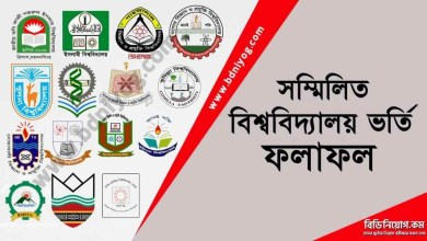 Combined Universities Admission Result