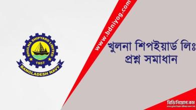 Khulna Shipyard Limited Question Solution
