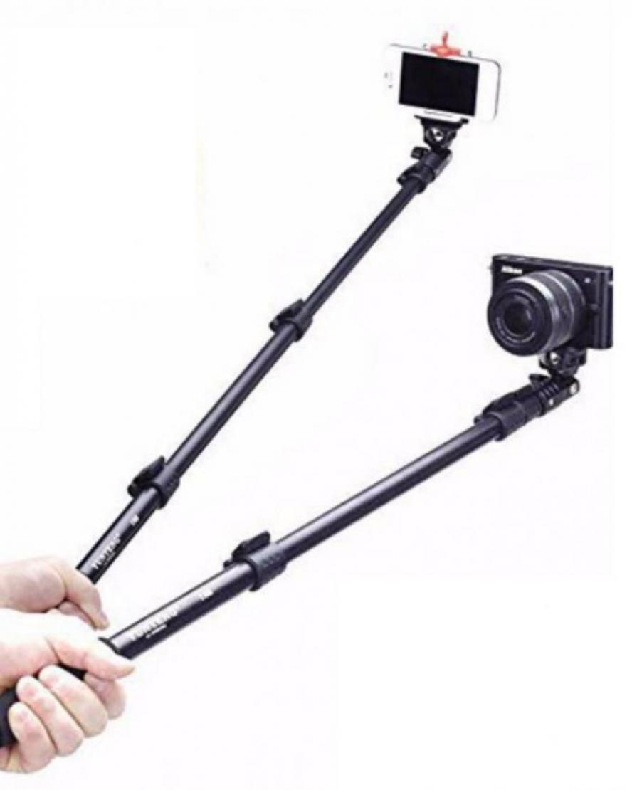 1475559651 Yunteng 1288 Selfie Stick - Black