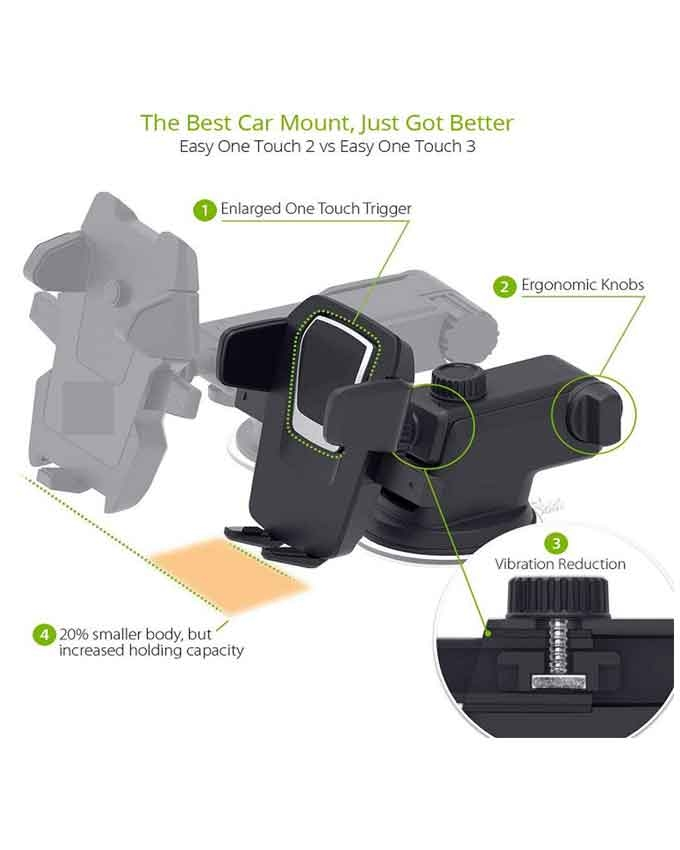 1551438497 Suction Cup Phone Holder - Transformer