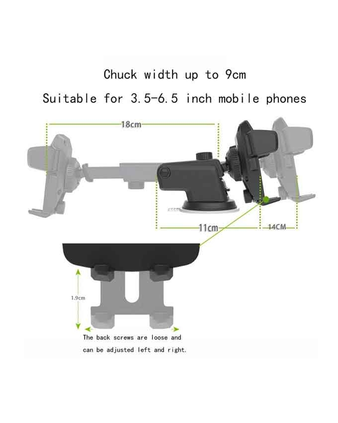 1551438521 Suction Cup Phone Holder - Transformer