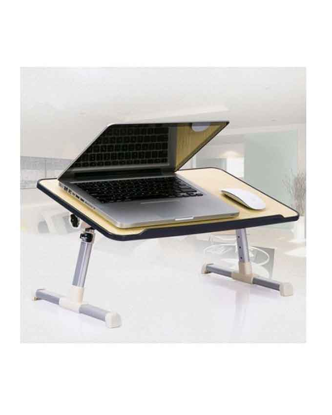 laptop foldable table with cooling fan