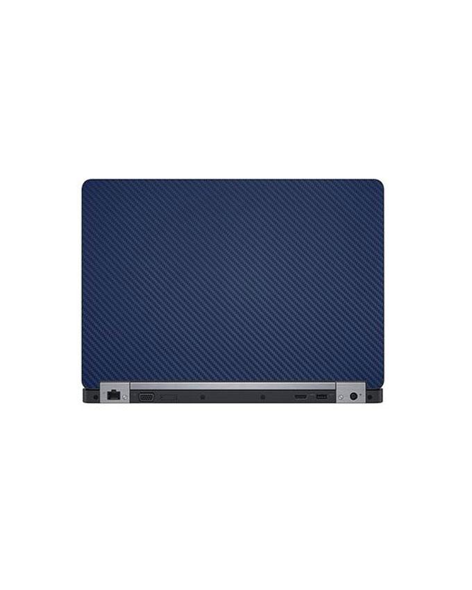 Laptop Back Protector Carbon Fiber Blue