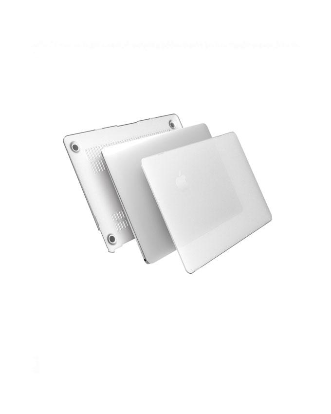 Macbook Hard shellcase 1 Macbook Pro A1502 Hard Shell Case 13inch Retina - Transparent