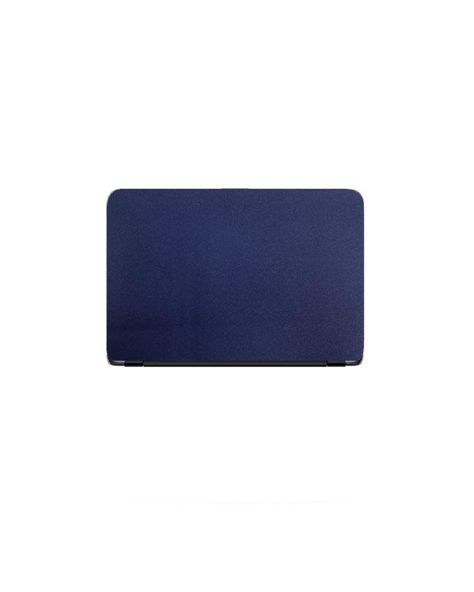 Laptop Back Stickers Glitter Blue Texture