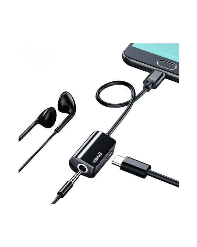 images Baseus Audio Converter Type C L40