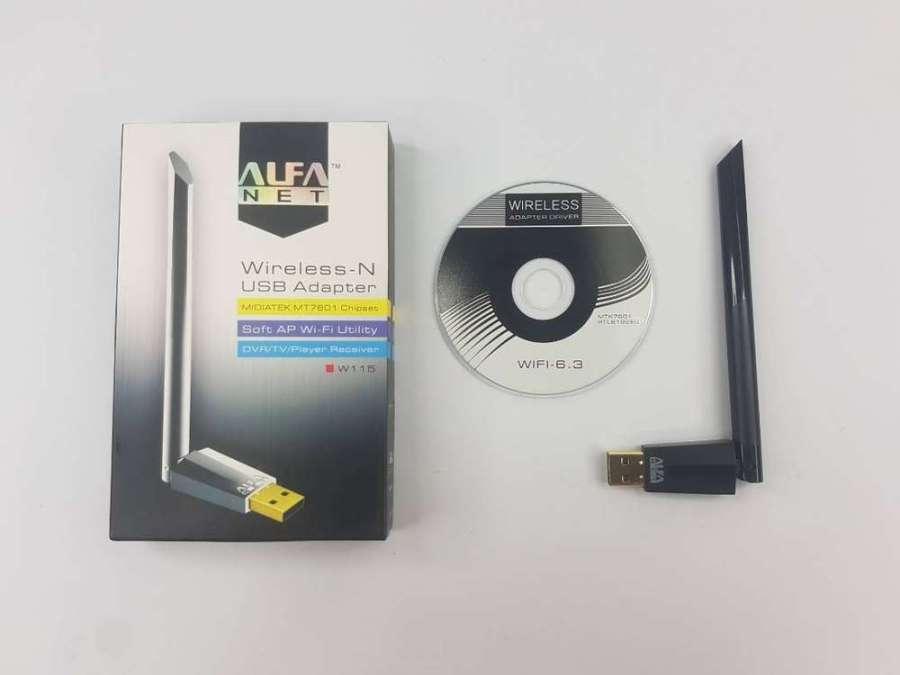 ALFA WiFi USB W115 3DBI W102 Alfa Wireless N Adapter 150Mbps