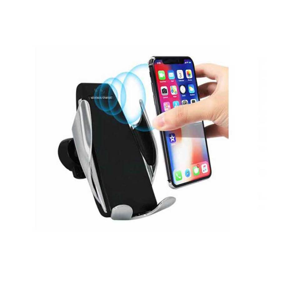 bDonix S6 Smart Sensor Car Wireless Charger Car Holder 1 S6 Smart Sensor Wireless Car Charger Mount Automatic Clamping