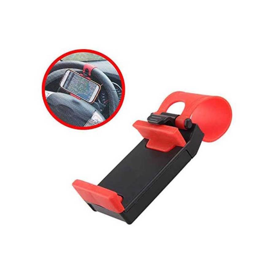 bDonix Steering Wheel Car Mobile phone Holder 3 Car Steering Wheel Phone Holder - Universal