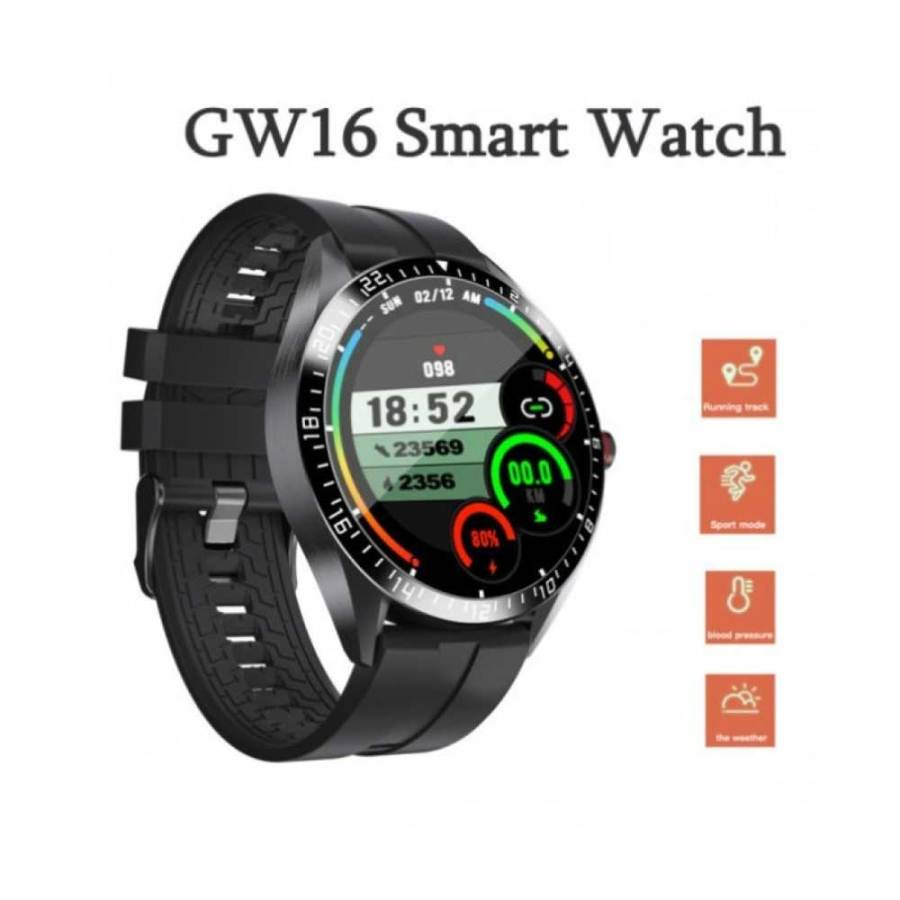 GW16 Smartwatch Heart Rate Monitor Blood Pressure Sleep Monitoring Incoming Call Weather Display Android IOS Bdonix 5 GW16 Smart watch