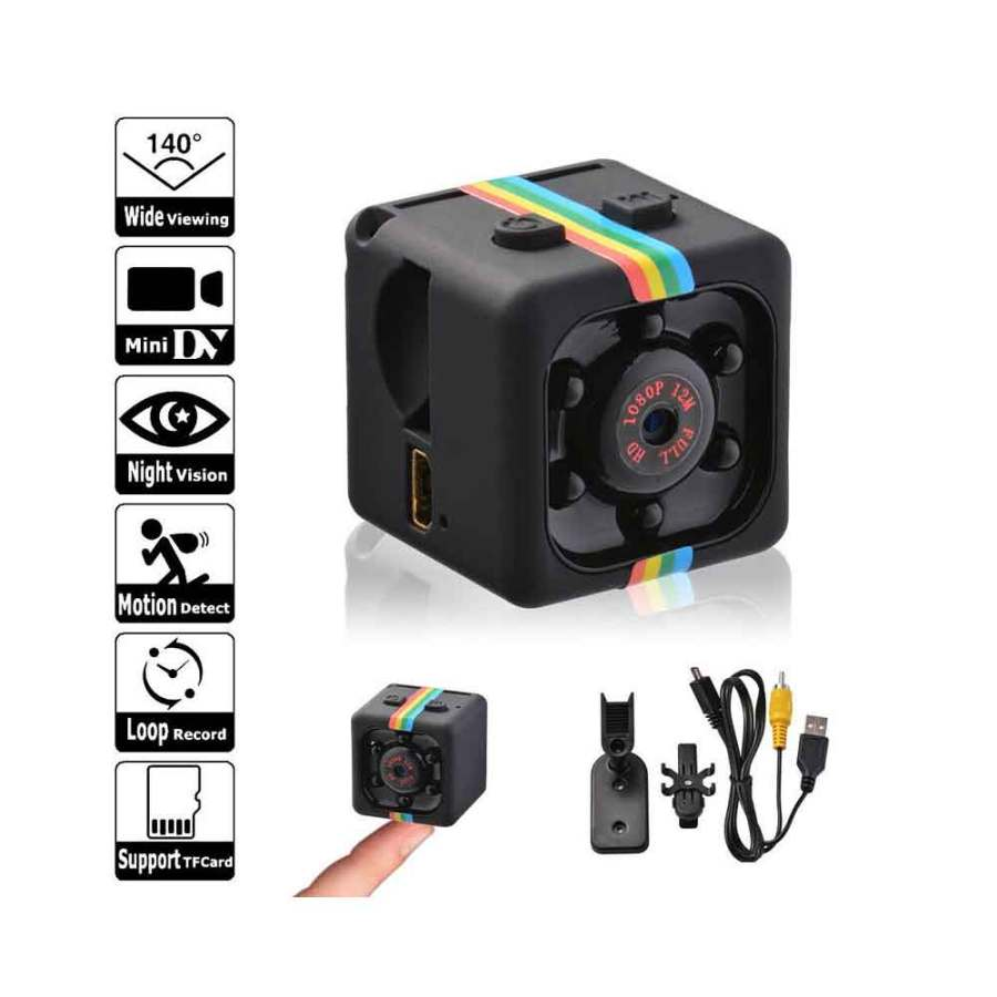 SQ11 MINI CAMERA 1080P Bdonix 3 SQ11 Mini Camera HD 1080p Night Vision