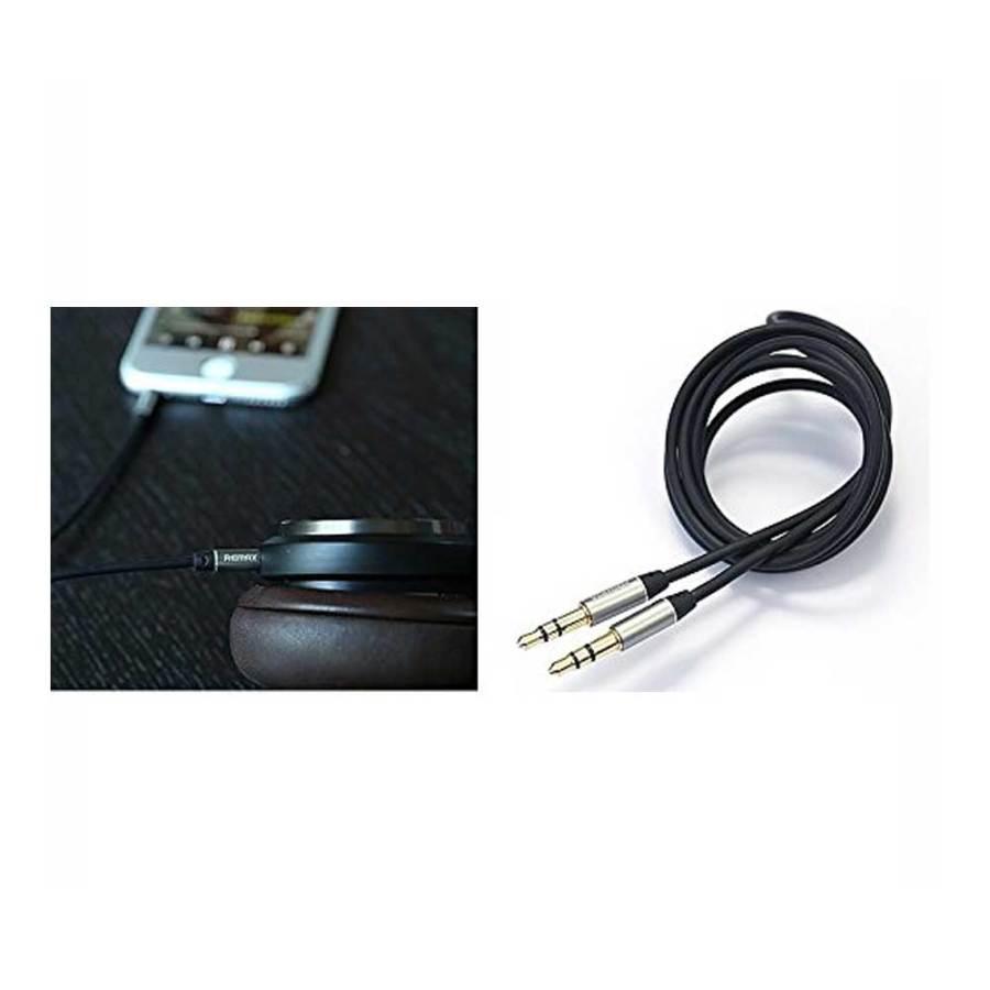 bDonix Remax 3.5mm Aux Cable L100 7 Remax RL-L100 3.5mm AUX Audio Cable male to male 1 Meter AUX Cable
