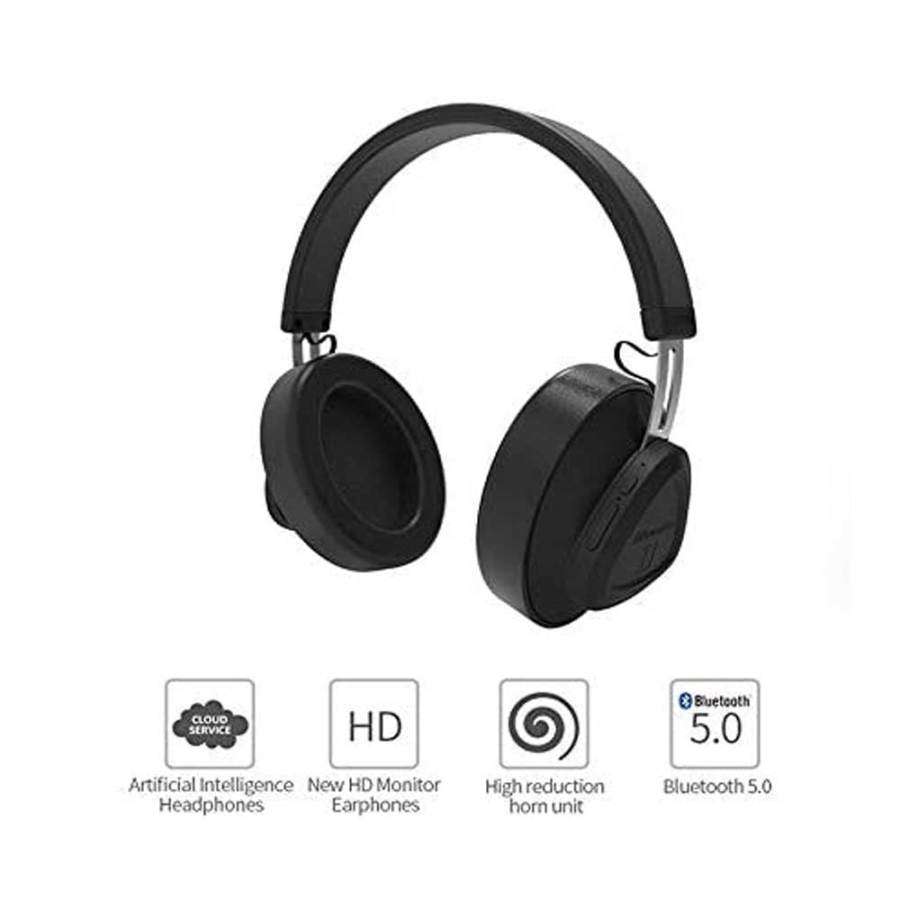 bDonix Bbluedio T Monitor Bluetooth Wireless Headphone 2 Bluedio Turbine T Monitor with Microphone Studio Headset