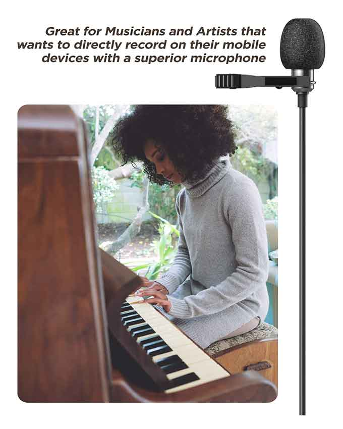 lavalier microphone for iphone 11