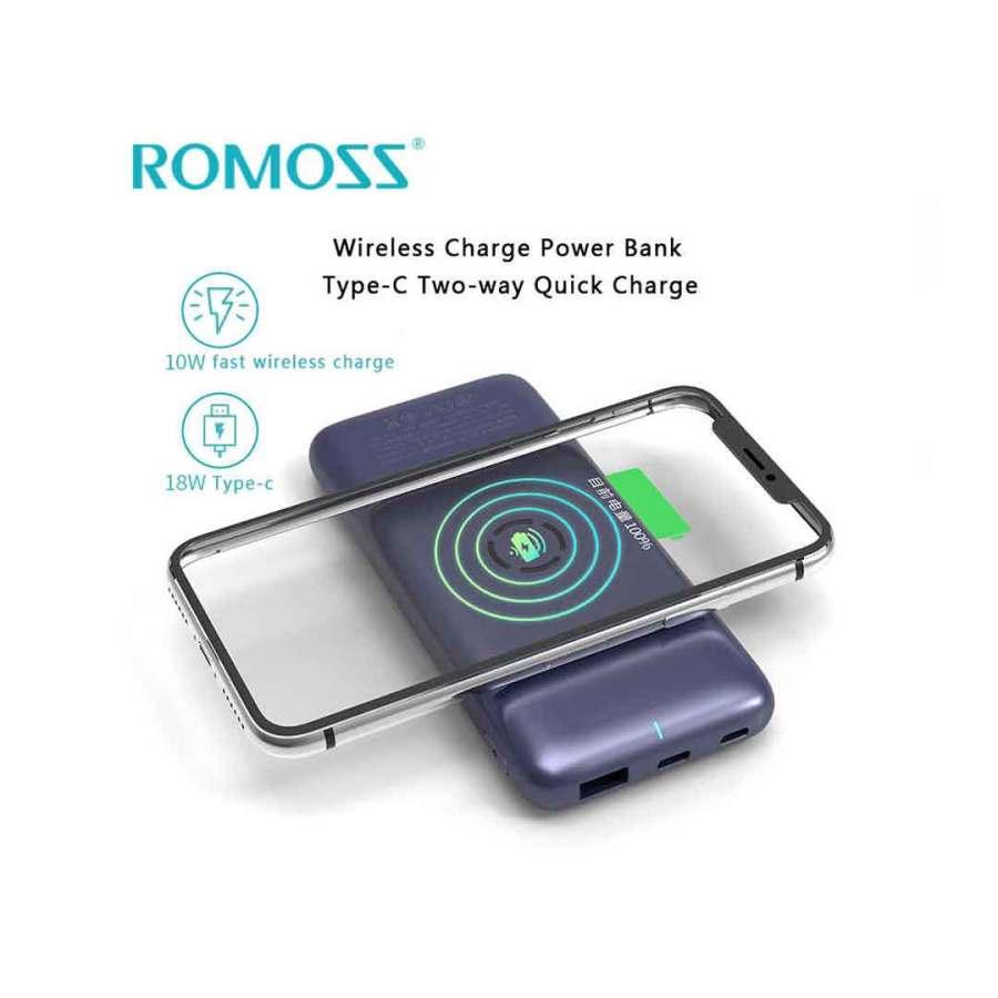 romoss wireless power bank
