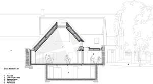 Warwick Hall, Burford by Acanthus Clews Architects