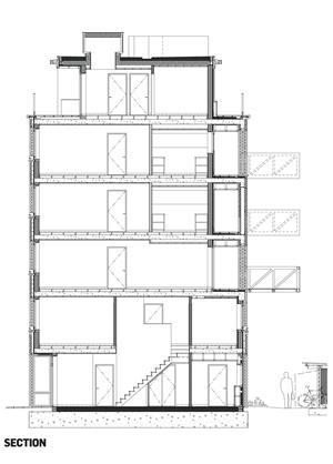 Peabody Avenue social housing in Pimlico, London, by
