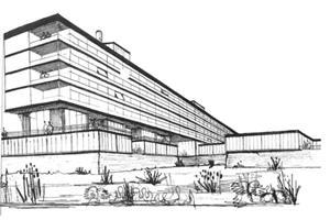 Powell & Moya's influential healthcare buildings