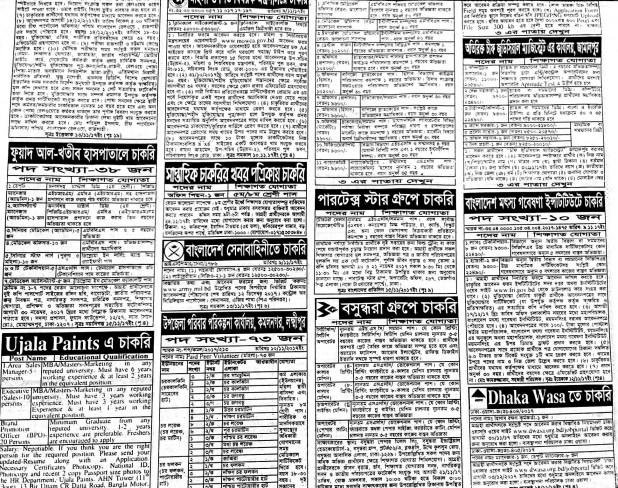 Saptahik Chakrir Khobor Potrika 17th November 2017
