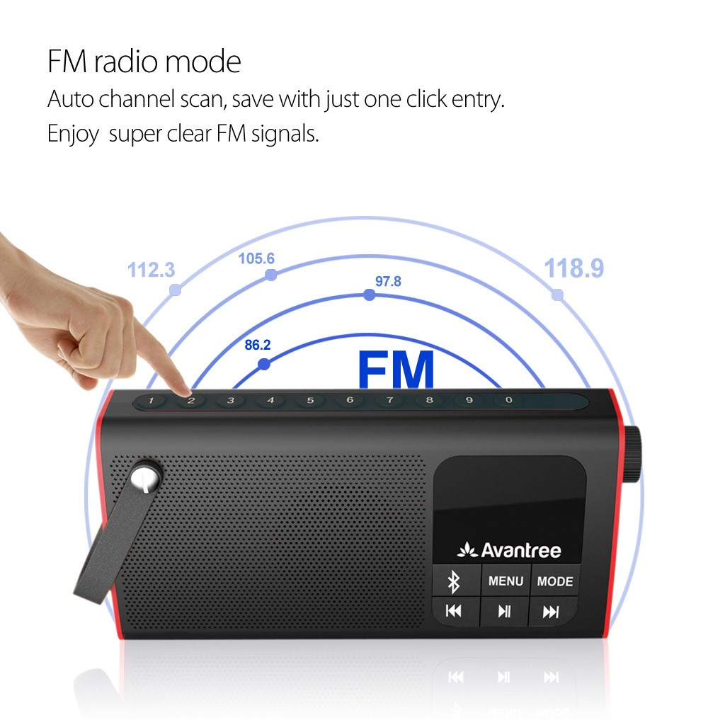 Avantree SP850 FM Radio