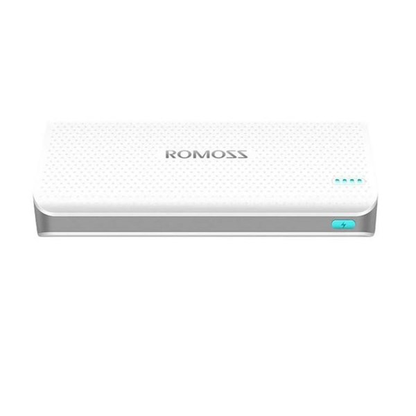 Baterie Externa Romoss Sense 15, 15000 mAh, alb