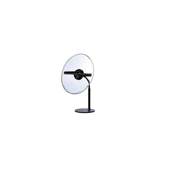 Sistem afisare holograma 3D cu leduri, 37 cm, tip ventilator 2x, suport masa, pretectie plexi