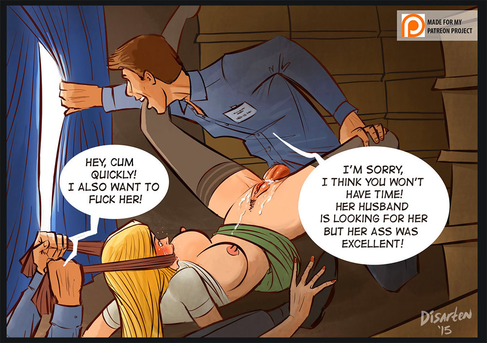 Submission punishment by Disarten  BDSM comics and BDSM