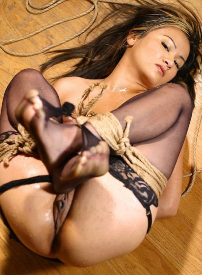 Beautiful Asian Model Bound and Tortured for Fun