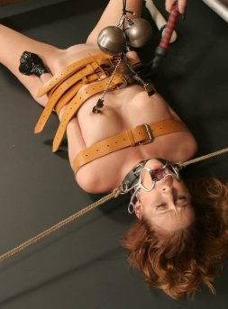 Hot Young Model Restrained and Humiliated in Dungeon