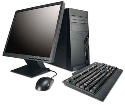 Desktop PC Intel 4th Gen I3 4GB RAM 500GB 185 Inch LED