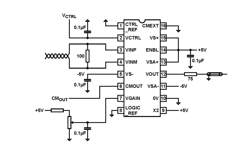 EL9110: Differential Receiver/Equalizer _ BDTIC a Leading