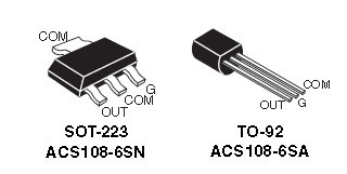 ACS108-6S Overvoltage protected AC switch (ACS )_BDTIC 代理